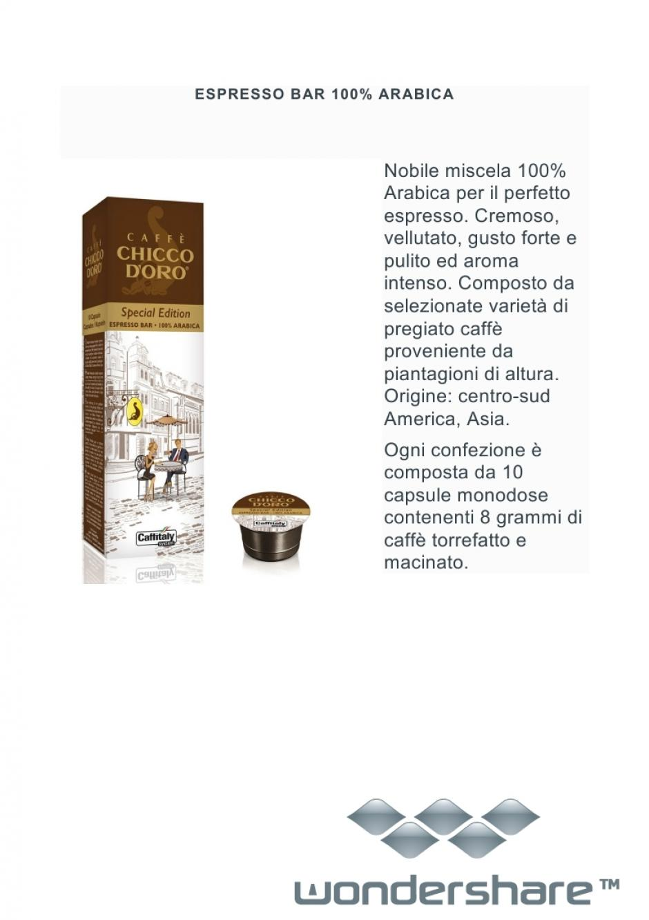 ESPRESSO BAR 100% ARABICA SPECIAL EDITION