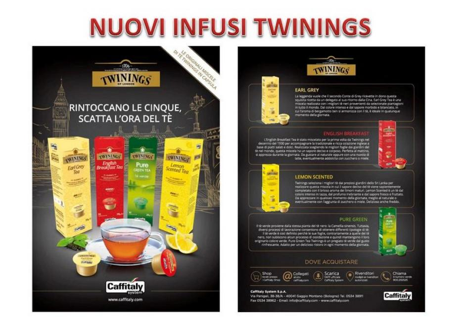 LE NEW ENTRIES TWININGS